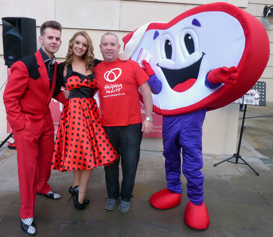 Raising support for Heart Research UK